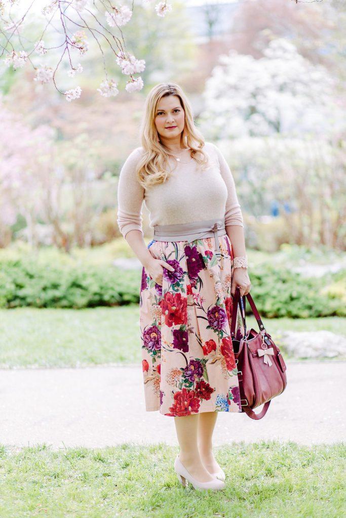 Blogger Outfit Hochzeitsgast Deichmann rosa Pastell Fashionblog Wien