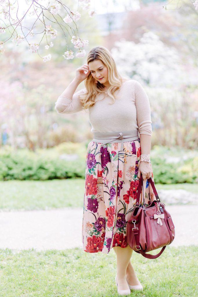 Blogger Outfit Hochzeitsgast Deichmann rosa Pastell Fashionblog Wien Osterreich
