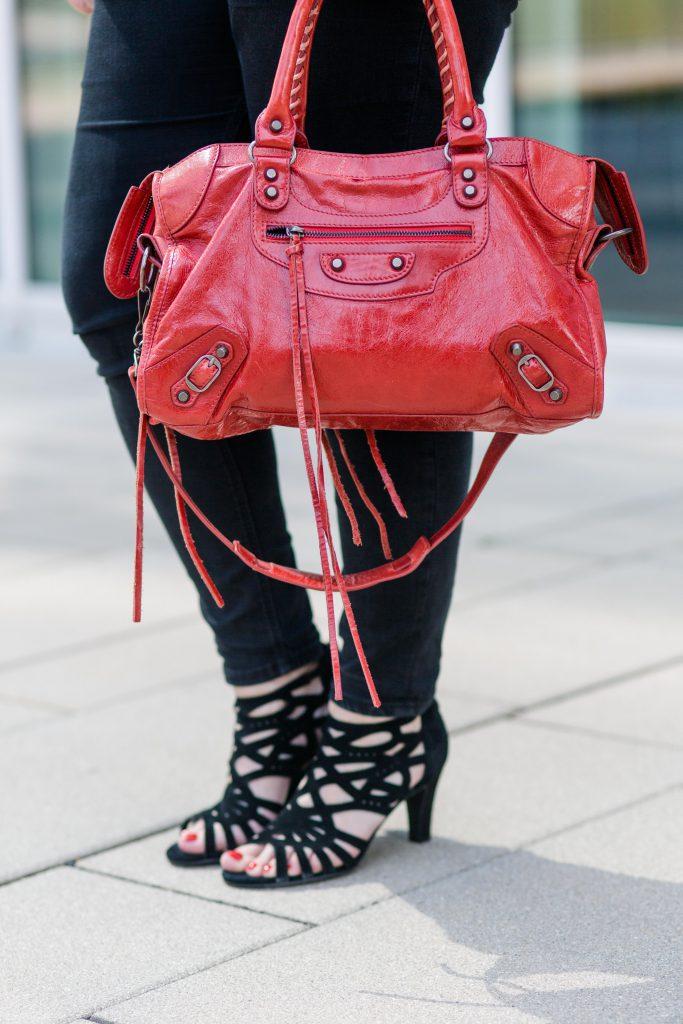 Balenciaga Bag Deichmann Schuhe Sandalen Blogger Fashionblog Outfit