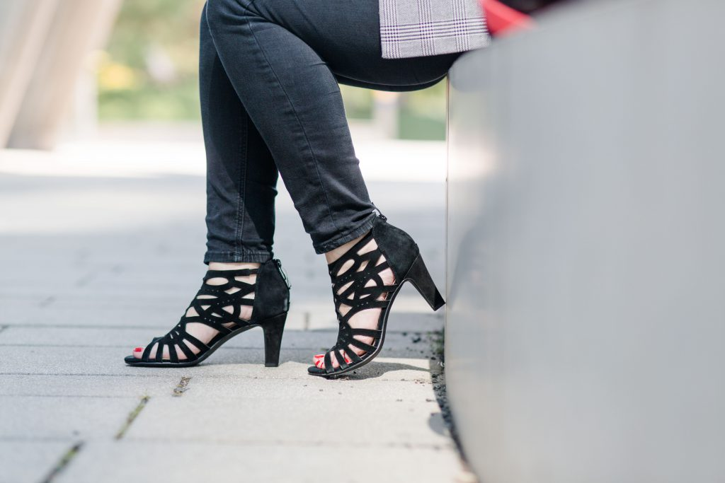 Deichmann Schuhe Sandalen Blogger Fashionblog Outfit