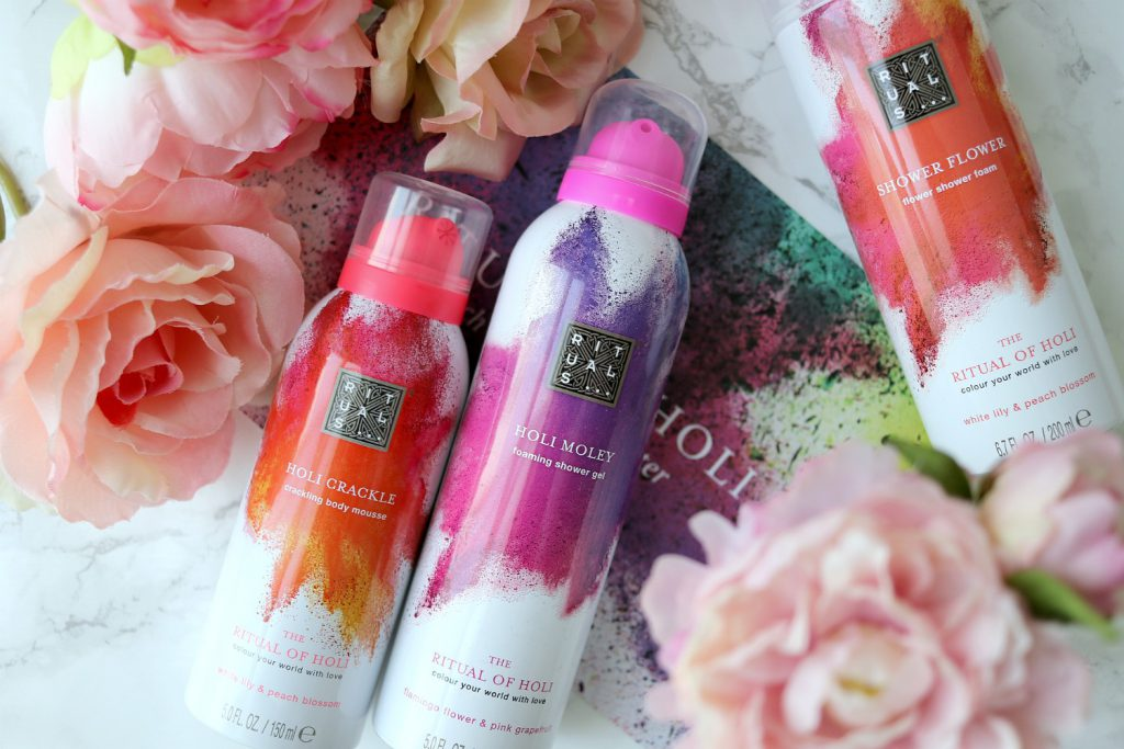 The Ritual of Holi Rituals Crackling Body Mousse