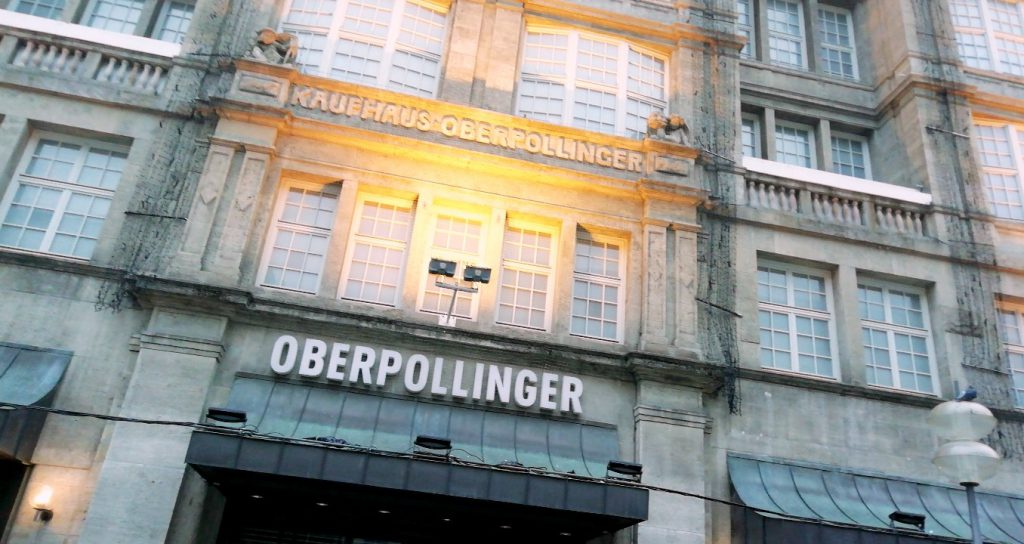 Oberpollinger Beauty Shopping Munchen