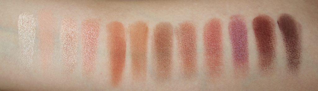 pretty vulgar cosmetics douglas osterreich phoenix rising palette swatches