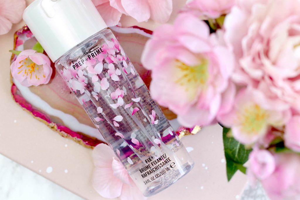 MAC Boom Boom Blomm LE Fix Prep Prime Cherry Blossom Kirschbluetenblog