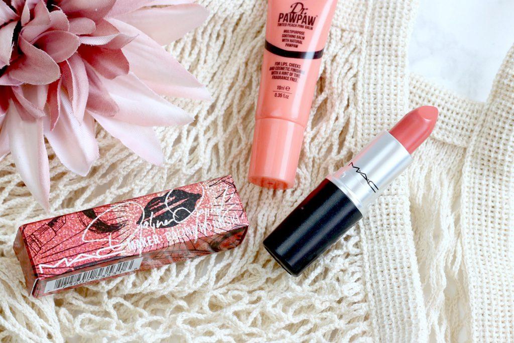 living coral MAC Palina Rojinski Lipstick orange Lippenstift