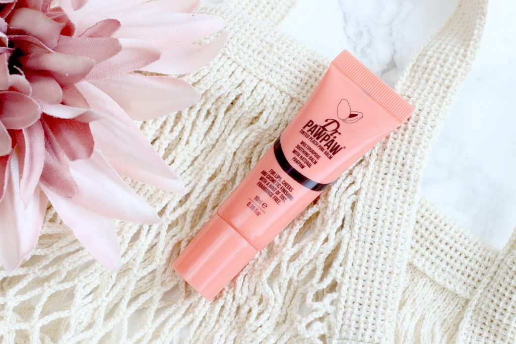 living coral make up dr pawpaw tinted peach pink balm lip balm