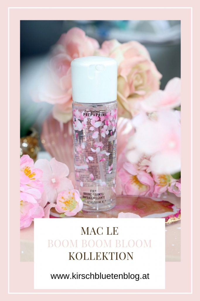 MAC Boom Boom Bloom LE Looks Swatches Eyeshadow Palette Kabuki Doll Cherry Blossom