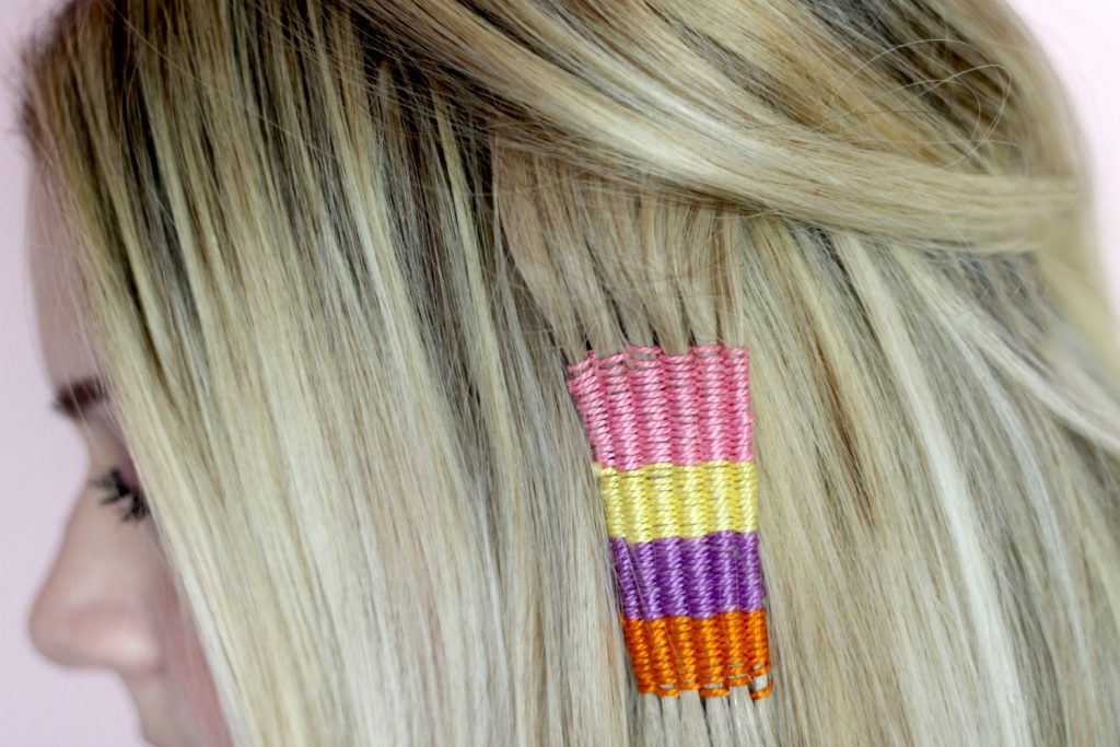Coachella Festival Hairstyle – DIY Hair Tapestry